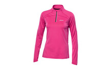 Asics Women's Winter 1/2 Zip Top pink glow